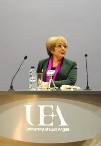 Margaret Hodge UEA
