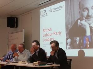 Steve Richards, John Rentoul and Martin Westlake discuss Brown, Blair and Kinnock.