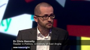 Chris Hanretty, University of East Anglia
