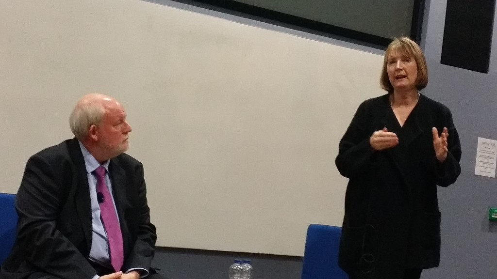 Harriet Harman at the University of East Anglia