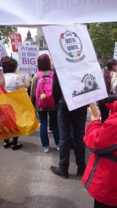 'Dosta, Grínta, Enough!' rally held in London on 21 May'Dosta, Grínta, Enough!' rally held in London on 21 May