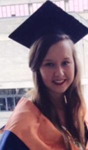 Haylie Pallister, UEA student