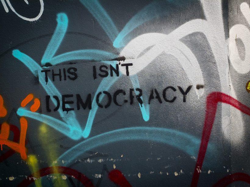 This isnt democracy