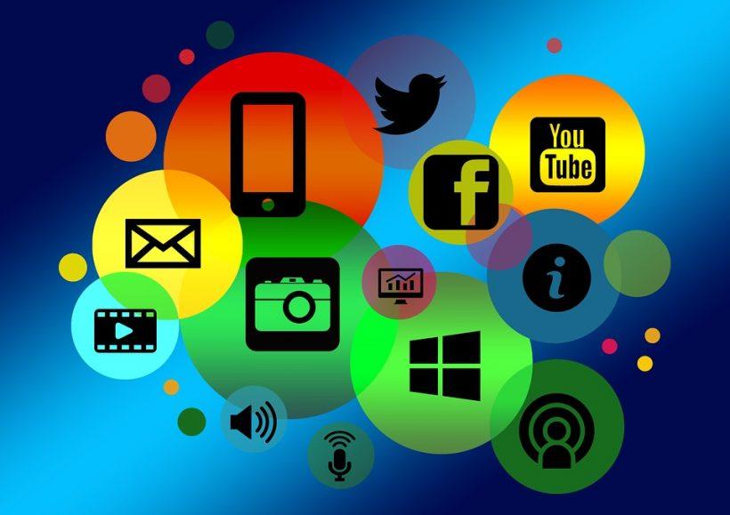 Online internet icons